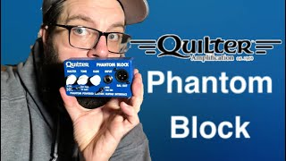 Quilter Phantom Block Demo/Review. New from NAMM 2020