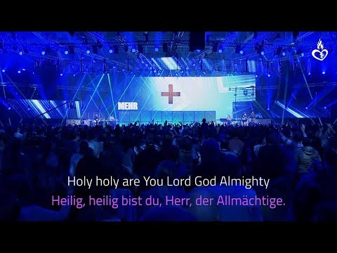 ▸ Holy holy are You Lord God Almighty // Agnus Dei by Michael W. Smith // lyrics // Full-HD