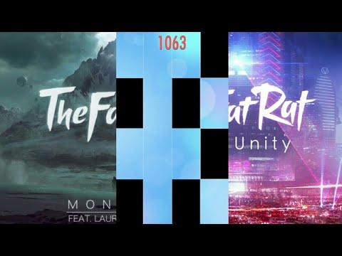 TheFatRat - Monody & Unity In Piano Tiles 2! (New Version)