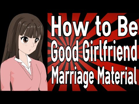 How to be dating material