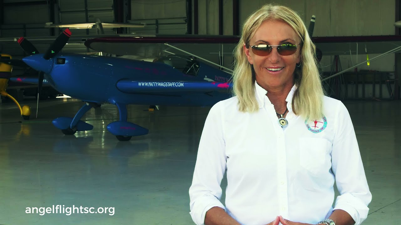 Angel Flight South Central and Patty Wagstaff