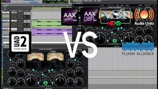 Test Shadow Hills Mastering Compressor Native VS UAD2