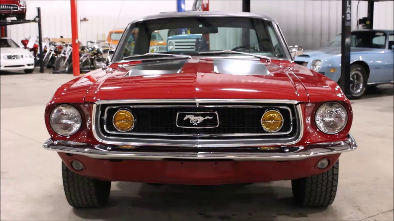 1968 Mustang Youtube