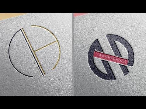 Logo Design Tutorial | NH - HN Logo Design in - Coreldraw x7 thumbnail