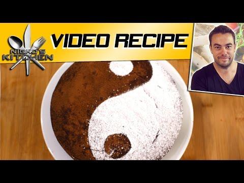 How to make Chocolate Yin Yang Cake