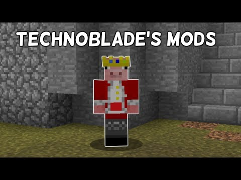 What Mods Does Technoblade Use?