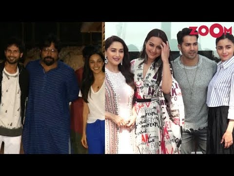 Kabir Singh star cast launch their teaser with a bang   Kalank cast promote  their film in full swing