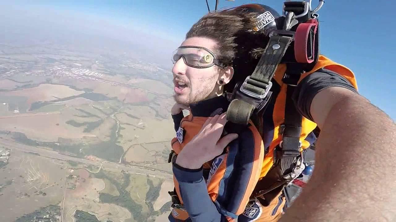 Salto de Paraquedas do João V na Queda Livre Paraquedismo 31 07 2016