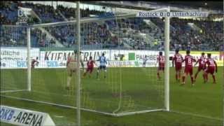 Hansa Rostock gegen SpVgg Unterhaching - Zusammenfassung (Version Blickpunkt Sport)