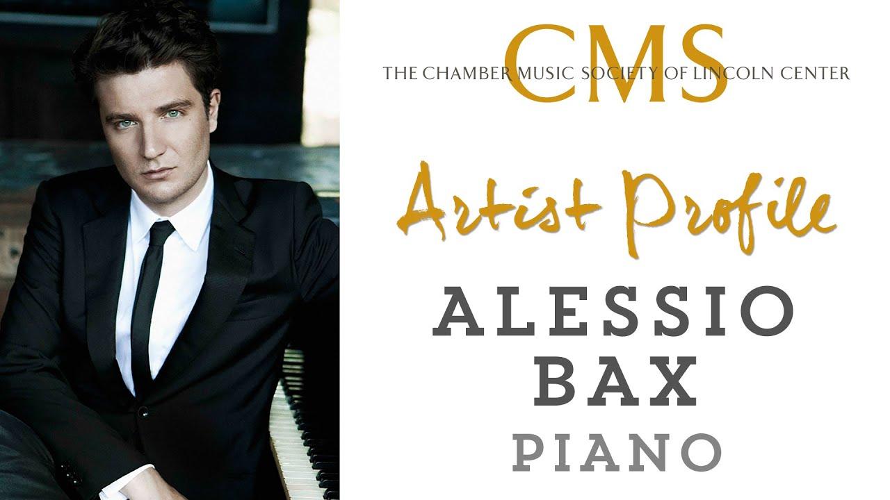 Alessio Bax Artist Profile - March 2014