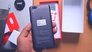 my New Phone!!  OnePlus 5  Slate Gray, 6GB  64GB Unboxing