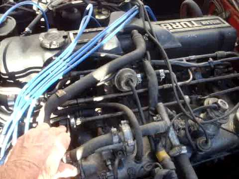 1983 Datsun 280ZX TURBO ENGINE FOR SALE. L.A. CA. - YouTube
