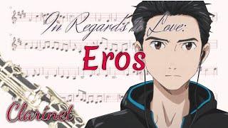 In Regards To Love: Eros Yuri!!! On Ice Clarinet