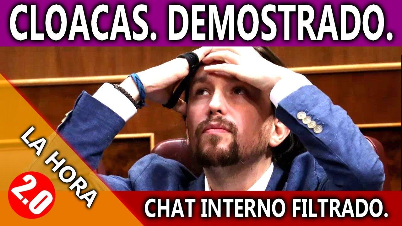 IMPRESIONANTE!!!! SE FILTRA CHAT INTERNO DE PODEMOS, VILLAREJO Y FISCALIA!!!