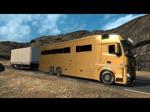 Mercedes Benz Actros MotorHome | Ruta carreteras de Islandia