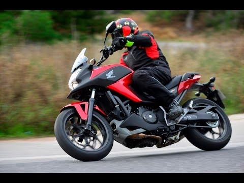 Test 2014 Honda Nc750x Dct Testmotornl Youtube