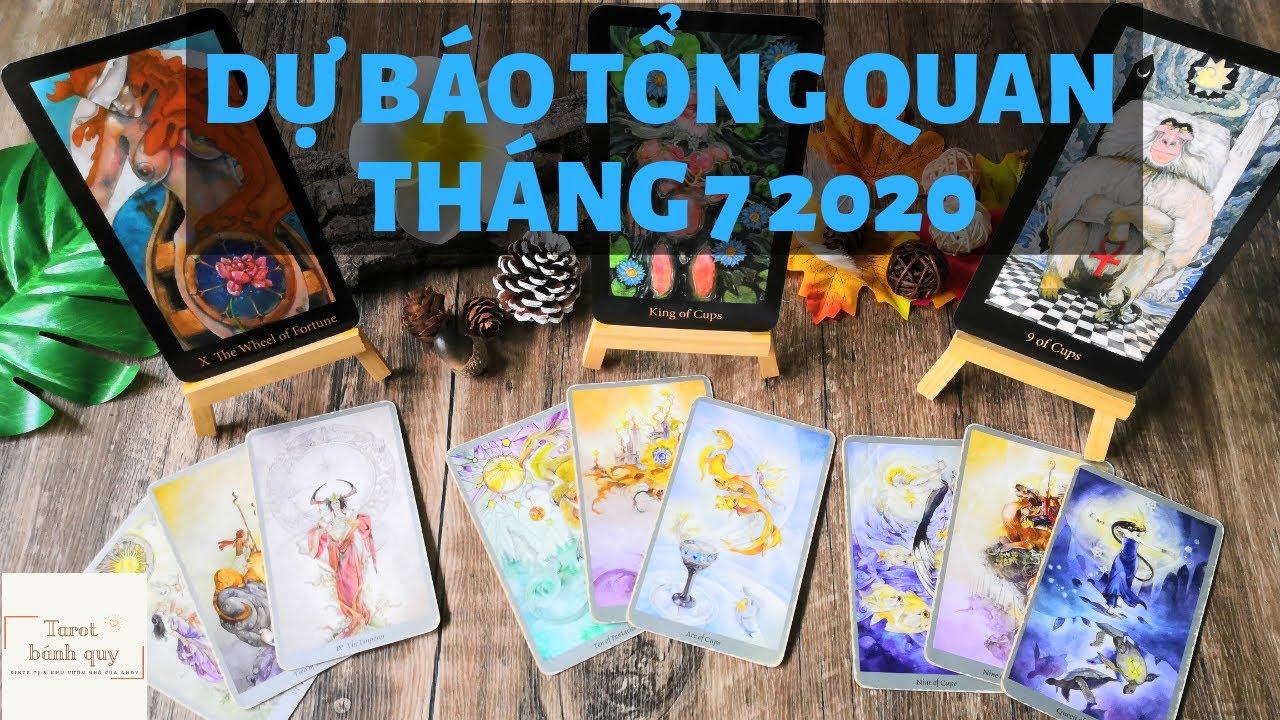 Dự báo tháng 7 2020 - Chọn 1 tụ bài Tarot bánh quy