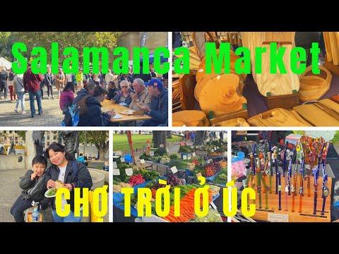 Du lịch TASMANIA Hobart - Salamanca Market- DU LỊCH VÀ CUỘC SỐNG ÚC