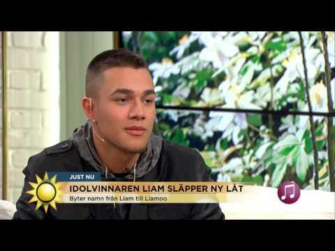 """Artisten Liamoo aktuell med nya låten """"Burn"""" - Nyhetsmorgon (TV4)"""