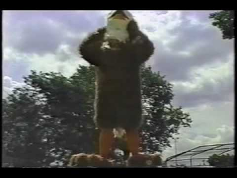 The making of Chicago's EAGLEMAN Eagle Auto Insurance commercials!  The WORST COMMERCIALS EVER!