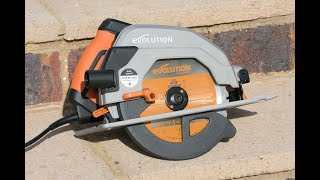 Evolution R185CCSL Circular Saw - Review