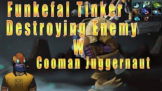 Funkefal Tinker With Cooman Juggernaut Slaying High Rank Enemies. How Many Fingers Do I Have?