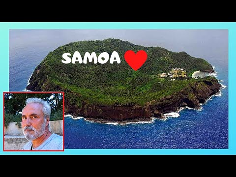 SAMOA, exclusive tour of the remote volcanic island of APOLIMA
