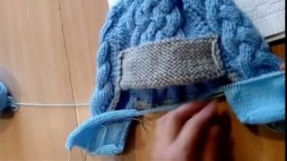 Подкладка (внутренняя шапка) для шапки-ушанки