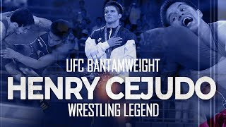 UFC Champion Henry Cejudo's Wrestling Highlight! #UFC249
