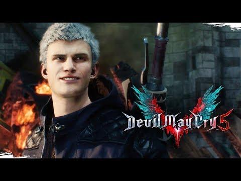 DEVIL MAY CRY 5 - Gameplay da Demo, em Português PT-BR!