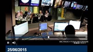 25 June 2015: John Humphrys challenges Alison Saunders over