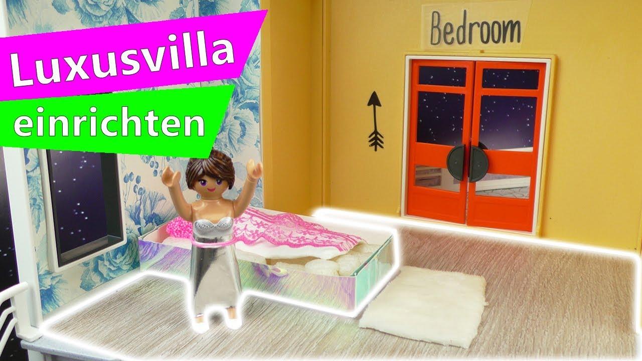 Playmobil DIY Deutsch  Neuer Boden für die Luxus Villa  Stellas Playmobil  Villa einrichten