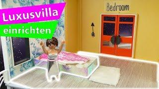 Playmobil DIY Deutsch | Neuer Boden für die Luxus Villa | Stellas Playmobil Villa einrichten