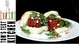 Mexican Meatball Sliders (albóndigas)
