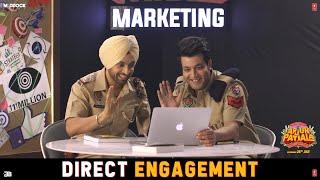 Direct Engagement Epi 4 Arjun Patiala Crazy Habibi vs Decent Munda Diljit Sunny Leone Varun
