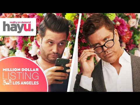Josh & Fredrik's First-Ever Negotiation | Season 12 | Million Dollar Listing: Los Angeles