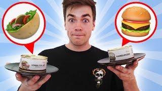 Burger + Döner aus der DOSE 😱 (UFO reagiert!)