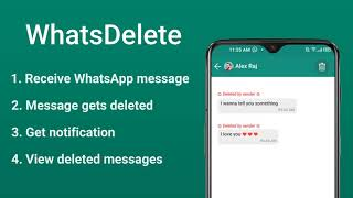 WhatsDelete: View Deleted Messages, Status Saver and Story Saver screenshot 5