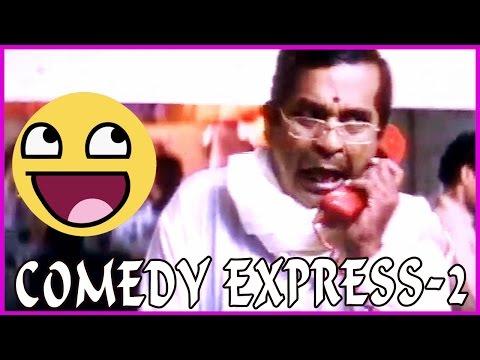 Brahmanandam & AVSBack to Back Comedy Scenes - AayanakiddaruMovie