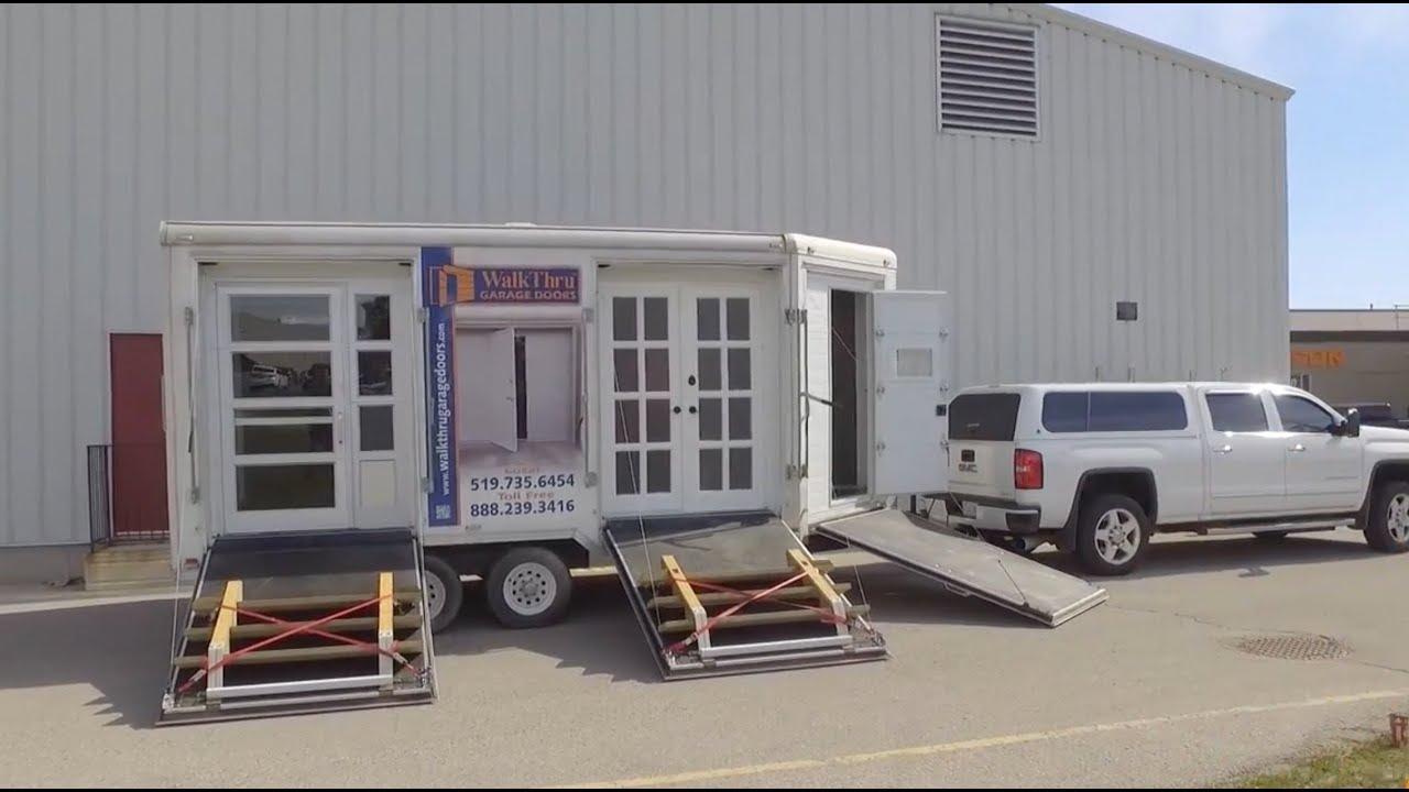 built garage through walkthrough cars cost exquisite walk org door in handballtunisie with l doors it openergarage