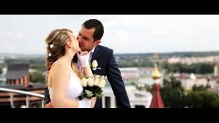 самое красивое видио венчание+свадьба