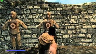 SKYRIM Third Person Camera Combat MOD edited by Me