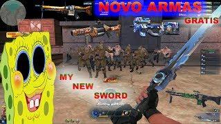Blood strike chinese : novo armas : obter gratuitamente - new free guns  !!
