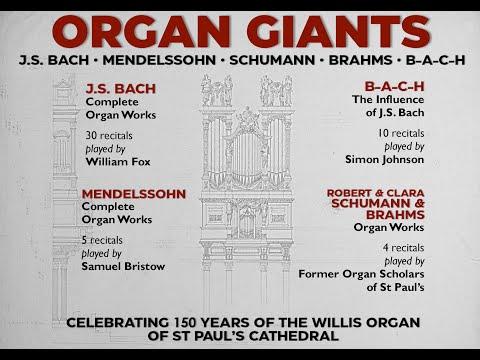 [LIVE] Organ Giants   J.S. Bach Complete Organ Works Recital 1   William Fox