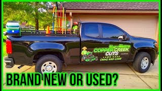 Why I Bought A New Truck Instead Of A Used Truck (New Car Vs. Used Car?)