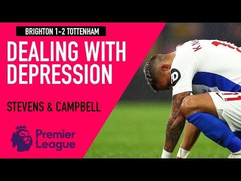 Depression an excuse for footballers? | Brighton 1-2 Tottenham | Astro SuperSport