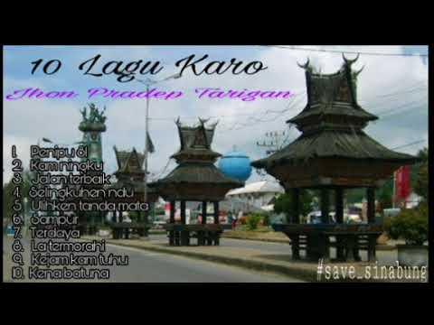 10 Lagu Karo -Jhon Pradep Tarigan