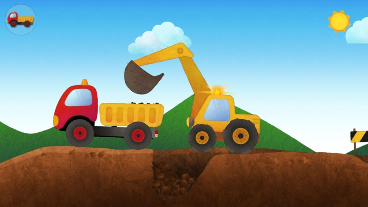 Mainan Dump Truck Dan Excavator Bego Permainan Kartun Untuk Anak Anak Mainan Edukasi Excavator Youtube