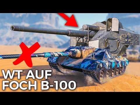 Making New Waffentrager Auf. E-100... Foch B-100 | World of Tanks AMX Foch B New Equipment