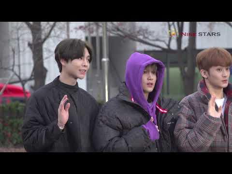 NCT 127 @ 181214 KBS 뮤직뱅크 출근길